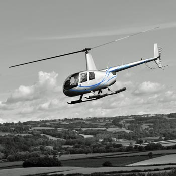 VIP New Forest Helicopter Dining for Two