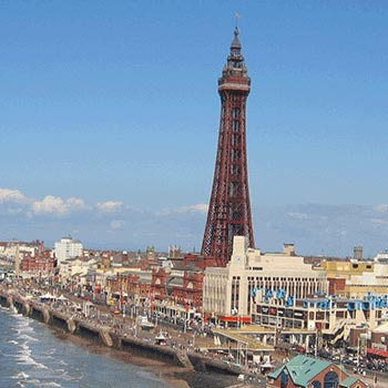 Two Night Blackpool Break with Dinner for Two