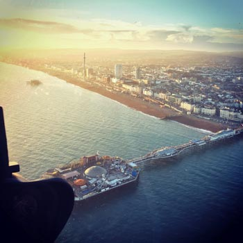 Brighton Sightseeing from the Air