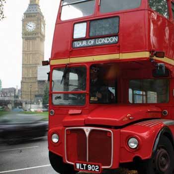 Vintage Open Top Bus Tours Picture