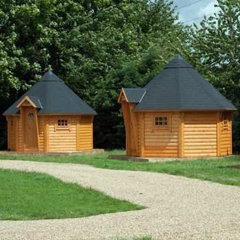 Sport & adventure Cabin Breaks for Four with Bike Hire