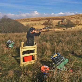 Clay Shooting Brecon Beacons Picture