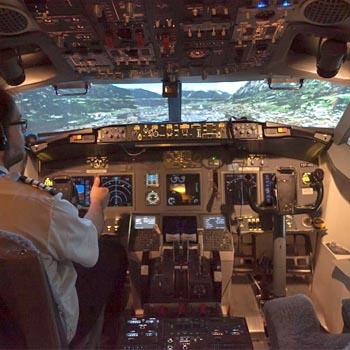 Flightdeck Experience Near Manchester Picture