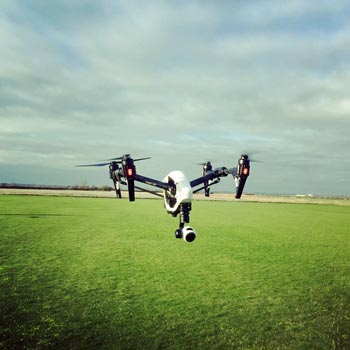 Drone Flying Lessons & Experience Days UK | Into The Blue