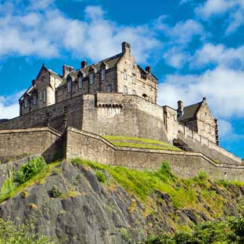 Edinburgh Castle & Dinner for Two