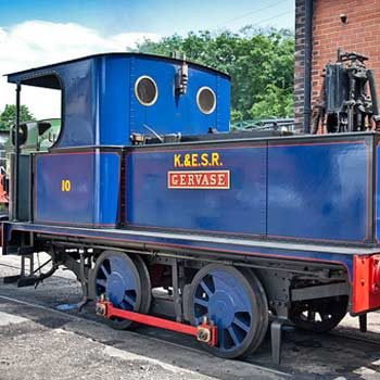 Sentinel Steam Engine Driving
