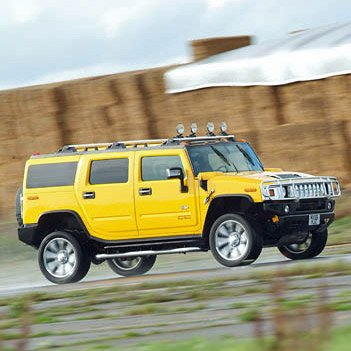 H2 Hummer Drive
