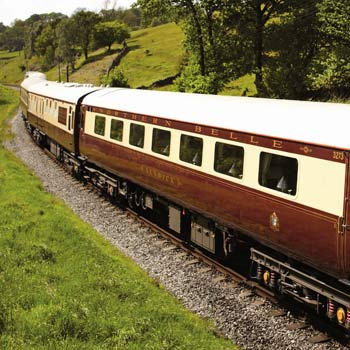 Luxury Vintage Train Lunch On The Northern Belle Picture