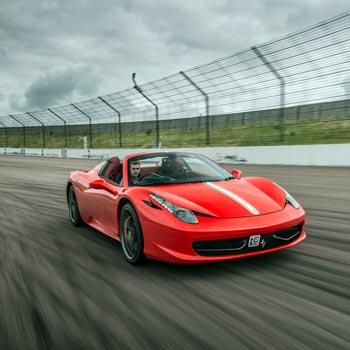 Ferrari 458 Spider Drive Picture