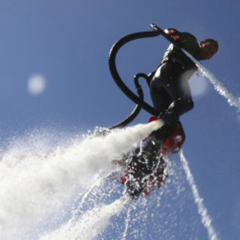 Coastal Flyboarding