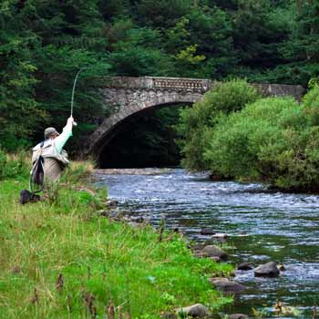 Lake District Fly Fishing Picture