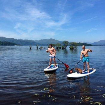 Paddleboarding Adventure With BbqandWine Hamper