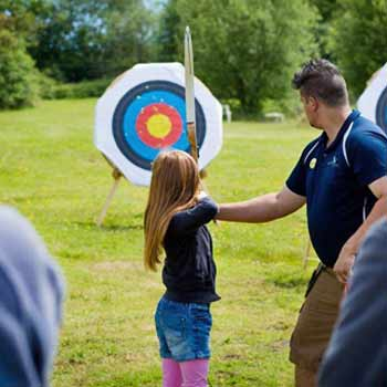 Archery Lessons Norfolk Picture
