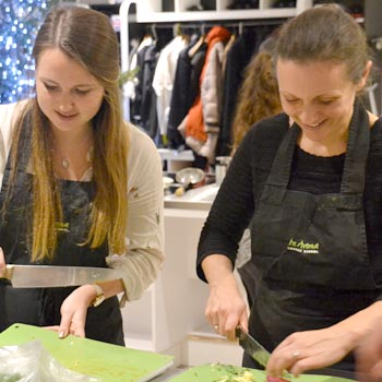 Cookery Classes - The Avenue Cookery School