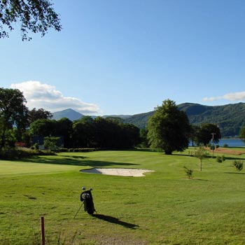 Golf In The Glencoe Valley Picture