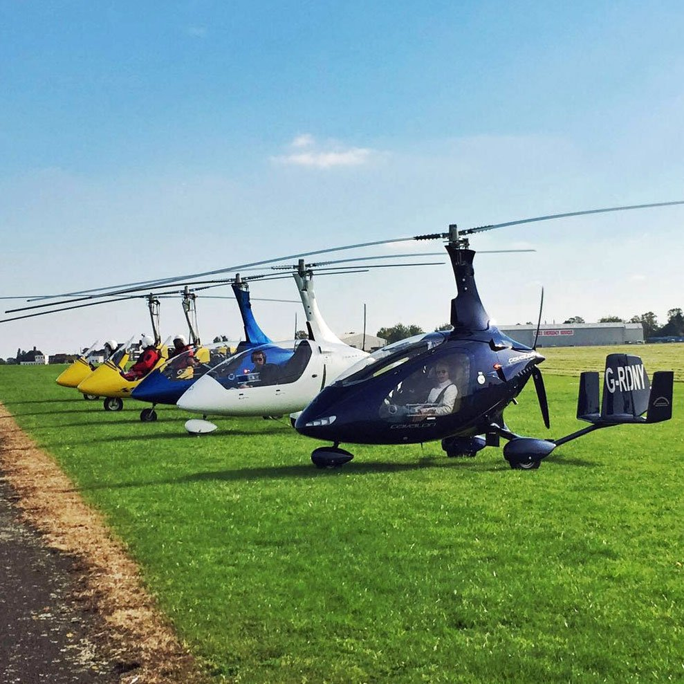 Gyrocopters Essex - Gyroplanes Out Of North Weald Aerodrome