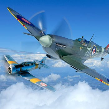 Wing to Wing with Spitfire Flights