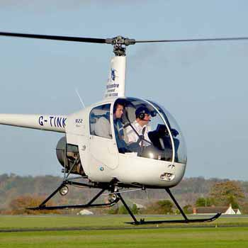 Helicopter Rides & Lessons in the UK with Into The Blue