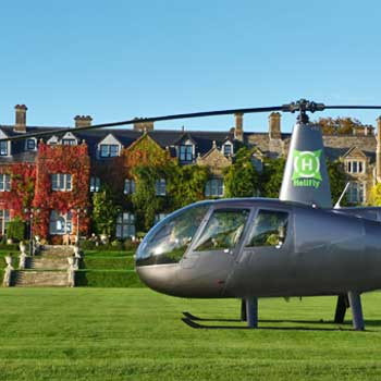 Exclusive Helicopter Dining for Two