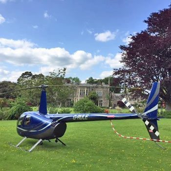 Cotswolds Exclusive Heli Dining
