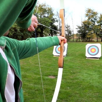 Archery Lesson Picture
