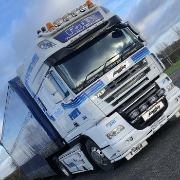 Lorry And Supercar Driving