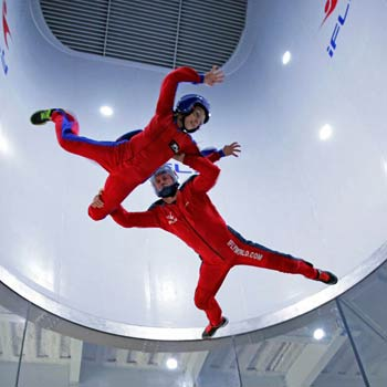 Extended Skydiving Simulator