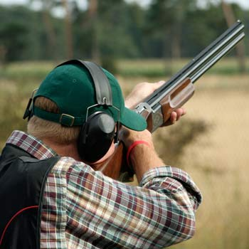 Clay Shooting Worcestershire Picture