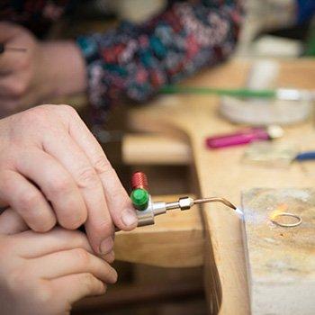 Silversmithing Workshops Kent