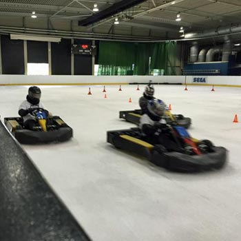 Karting on Ice