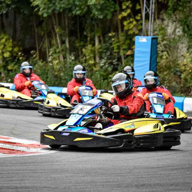 Outdoor Karting In Kent Picture