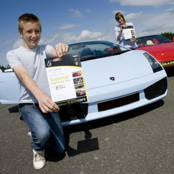 Kids Supercar Uk Driving Experience Day From Into The Blue