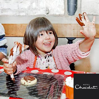 Hotel Chocolat Children's Chocolate Workshop Picture