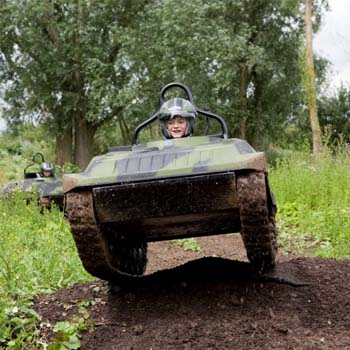 Mini Tank Driving for kids in Hampshire