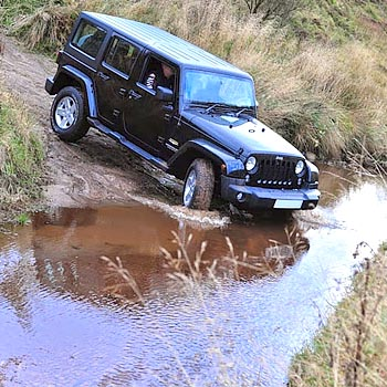 4x4 Jeep Driving Fife