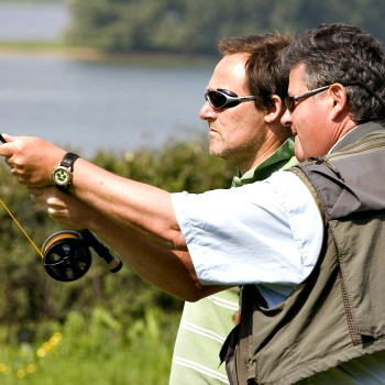 Learn To Fly Fish On Rutland Water Picture