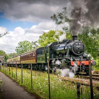 Whistlestop Cream Tea & Steam Train Ride for Two