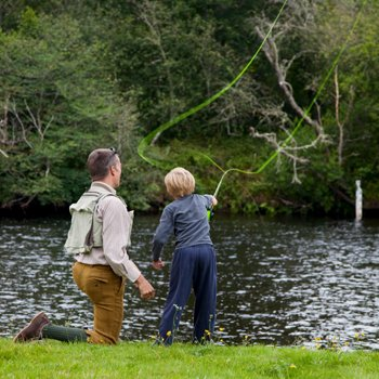 Dads and Lads Fly Fishing Kent