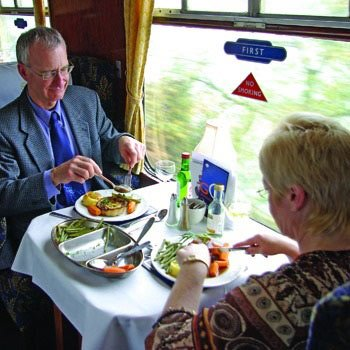 Sunday Steam Train Lunch in Leicestershire