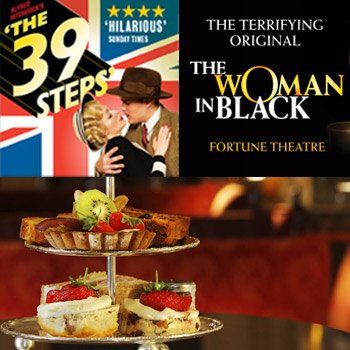 West End Show and Afternoon Tea for Two