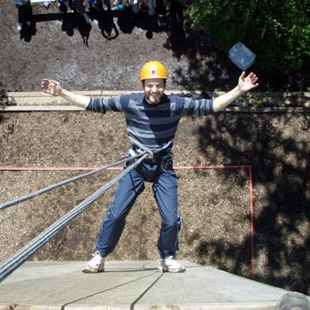Abseiling In East Sussex Picture