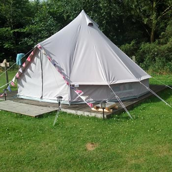 Two Night Luxury Bell Tent Glamping