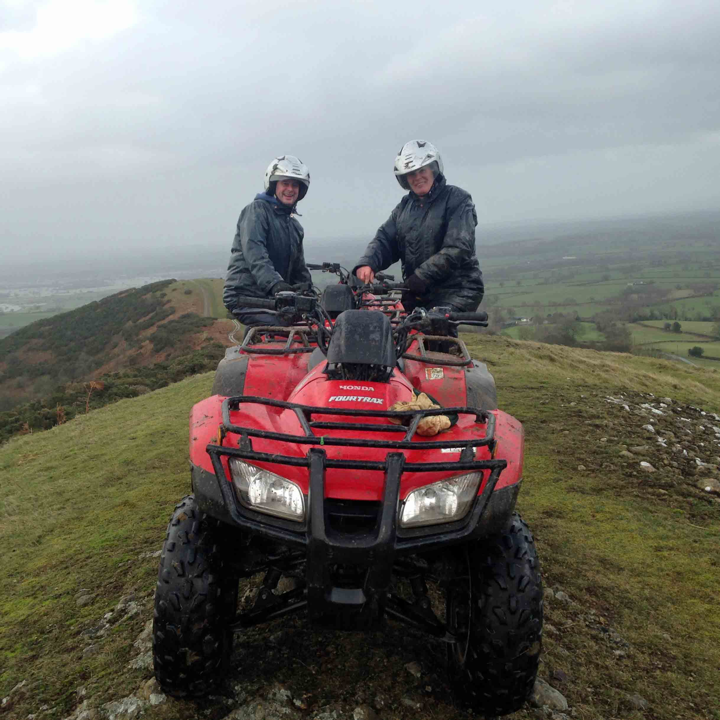 Quad Trekking Powys & Shropshire Border Picture