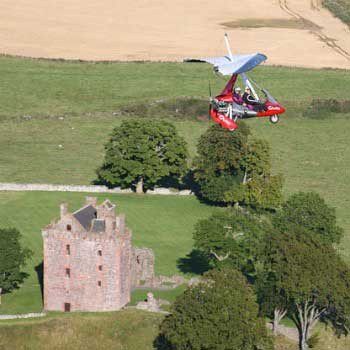 Microlights in Kinross