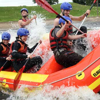 White Water Rafting Experience in Notts