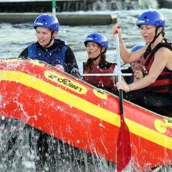 Notts rafting