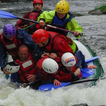 White Water Rafting North Wales