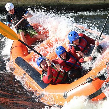 Nottingham White Water Rafting Experience