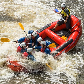White Water Rafting in Teesside