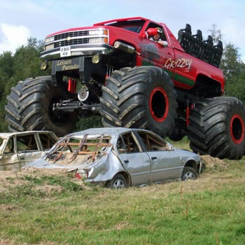 Monster Truck Passenger Ride